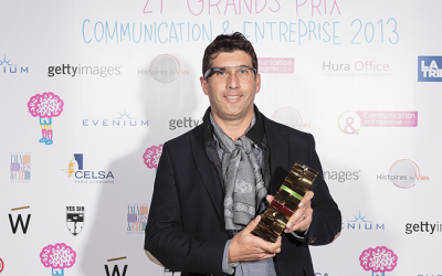 Prix de la personnalité E-communicante décerné à Dominique Piotet