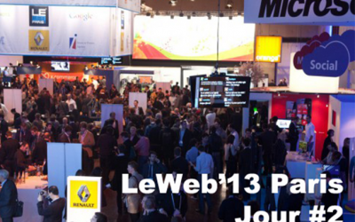 Dominique Piotet nous fait vivre LeWeb'13 Paris J2