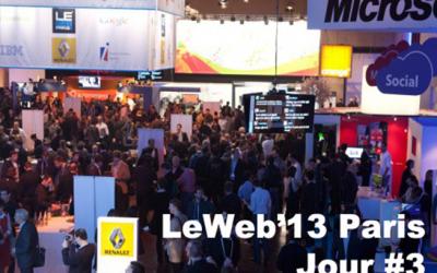 Dominique Piotet nous fait vivre LeWeb'13 Paris J3