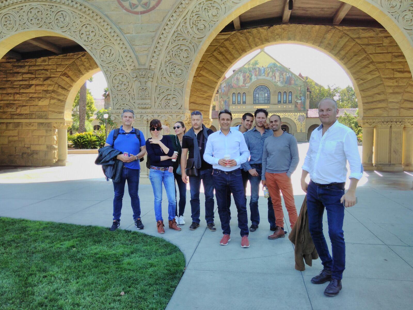 session de octobre/novembre au coeur de la silicon valley, une expérience très enrichissante pour les participants