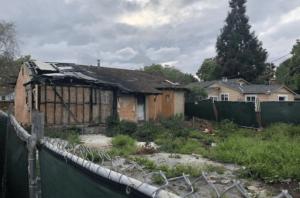 Une maison de la silicon valley ravagée par les flammes vendue 800 000 dollars