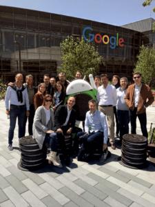 siege social de google googleplex montain view silicon valley session mai