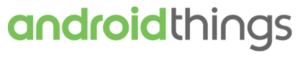 Logo de Android Things le nouvel OS de Google pour l'IoT