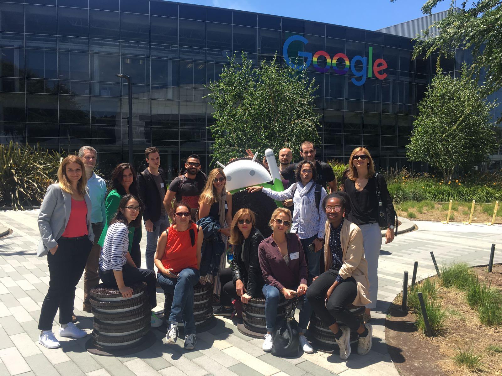 Visite du Googleplex