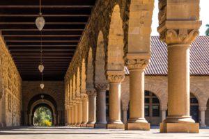 Piliers au sein de l'université de Stanford