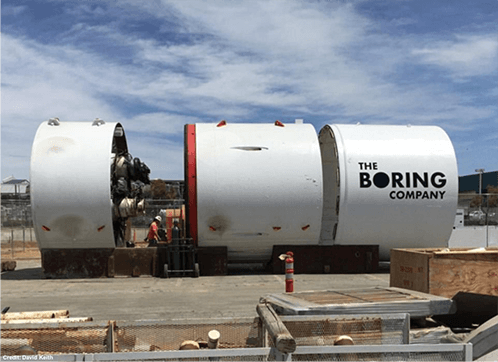 foreuse the boring company