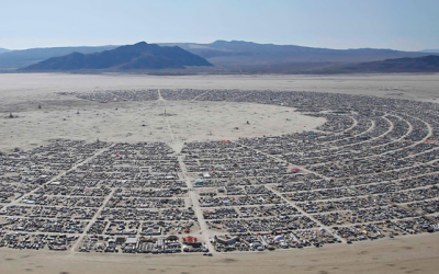 Le Festival de la déconnexion Burning Man