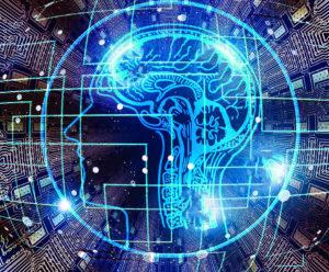 cerveau représentation de l'intelligence artificielle
