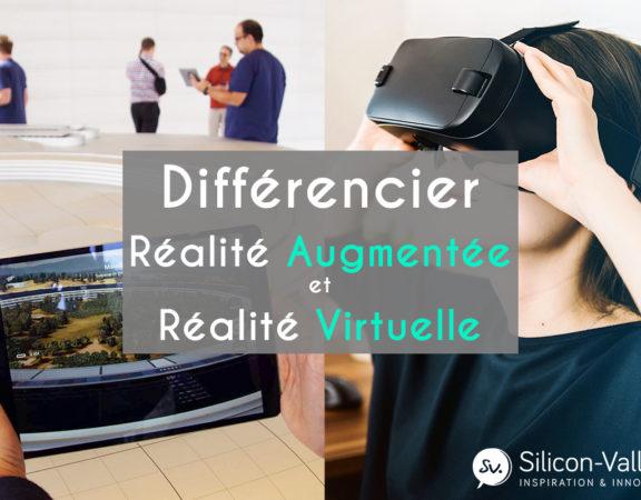 Savoir faire la différence entre réalité augmentée et réalité virtuelle