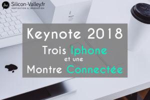 Keynote 2018 la conférence apple annuel