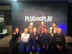 visite de plug and play entreprise de financement d'entreprises et coworking à San Francisco en Silicon Valley