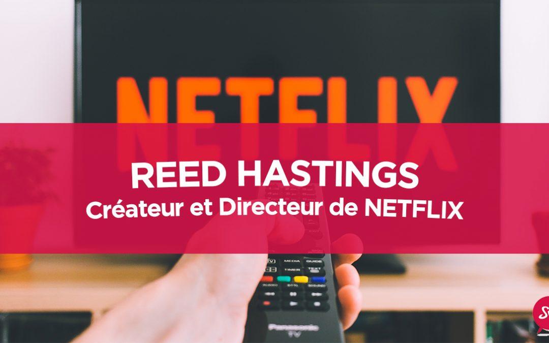 Reed Hastings, créateur et directeur de Netflix
